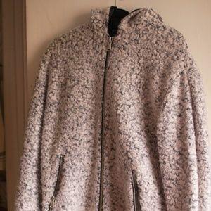 Salt and Pepper Wool Topshop Coat